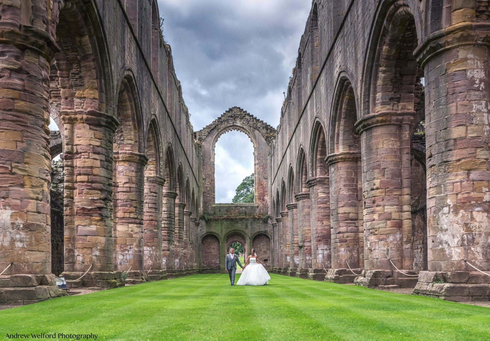 Fountains Abbey Dream Wedding Andrew Welford Photography