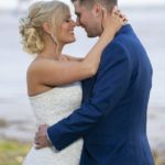 Happy newlyweds on Hessle foreshore
