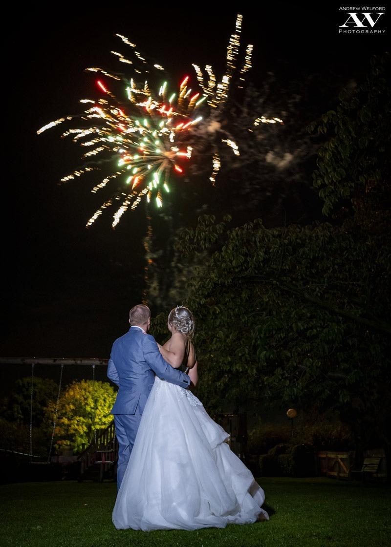 Fireworks at Skidby Millhouse